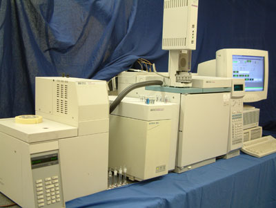 GC MS Gas Chromatograph with Mass Spectrometer
